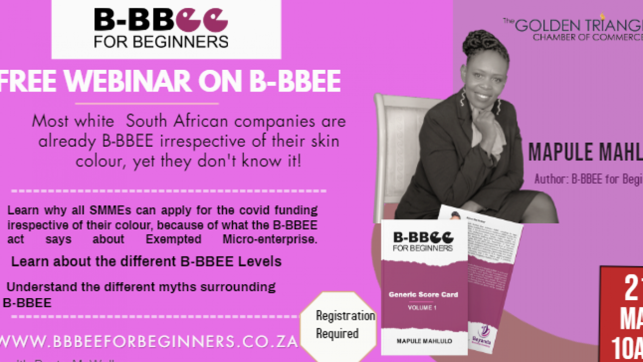 GTCOC bbbee meeting b